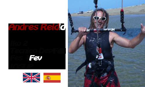 Monitor kitesurf Andrés