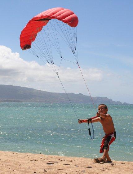 kitesurf niño