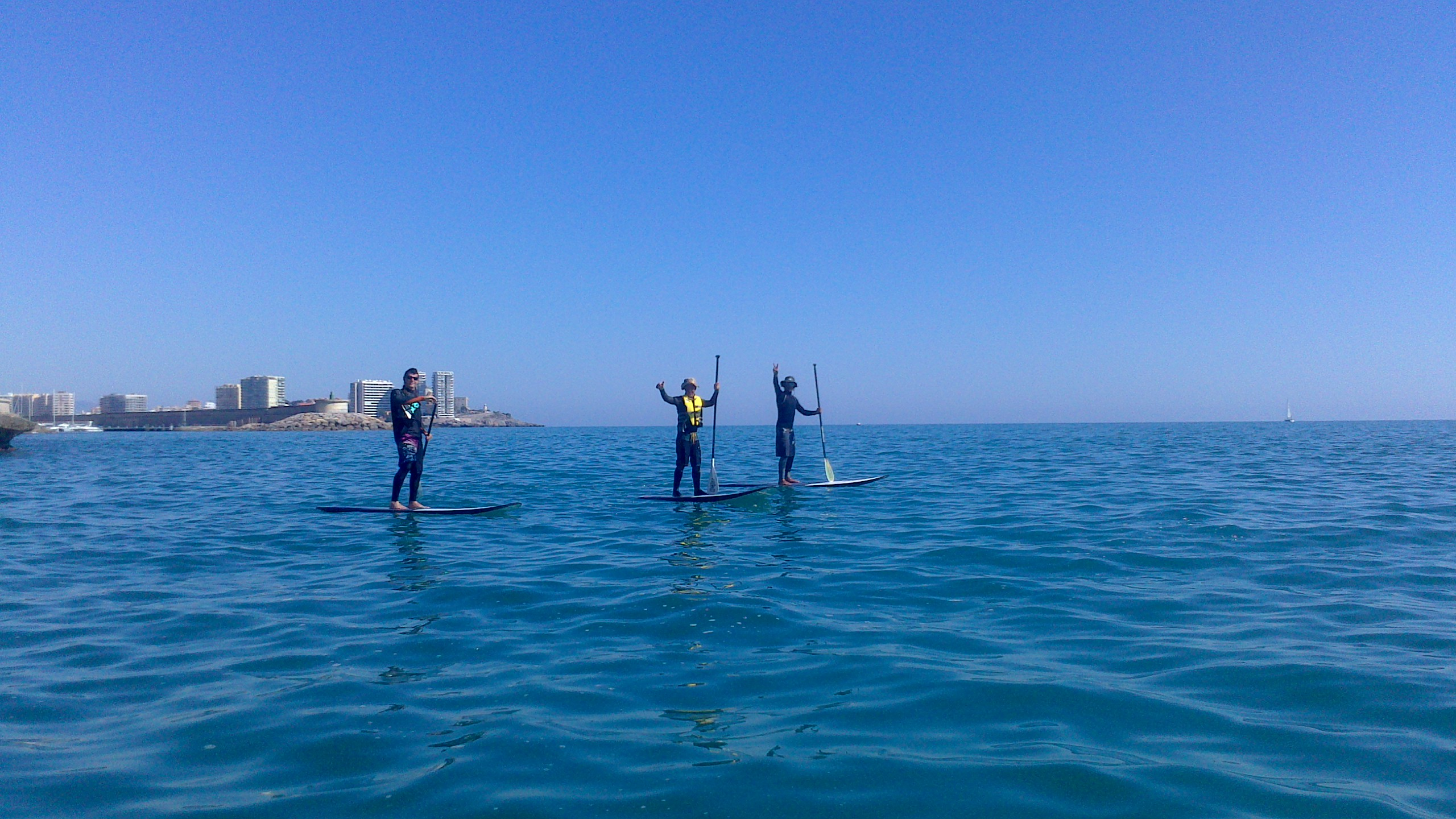 paddle sur costa azahar