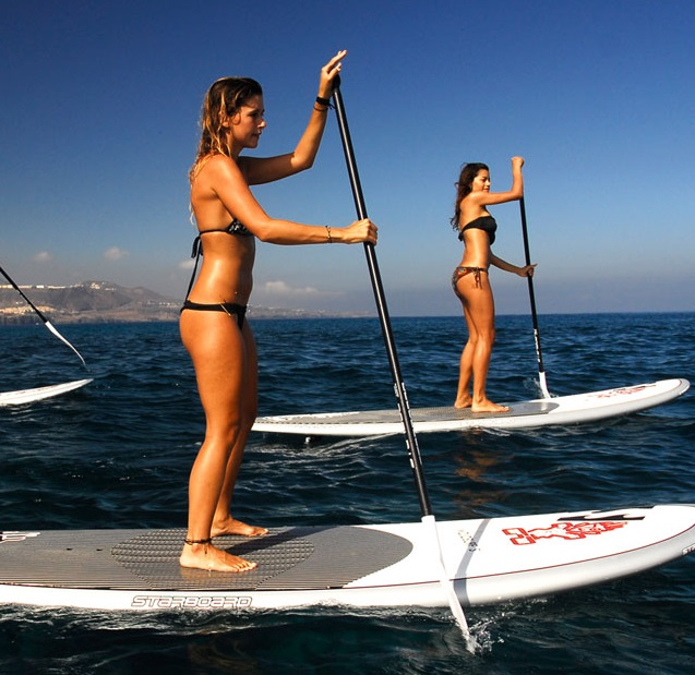 paddle surf chicas