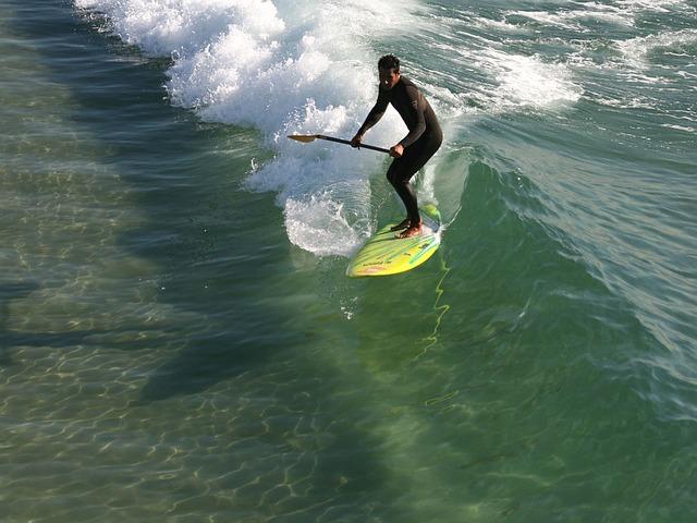 paddle surf ola