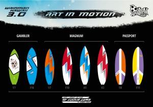 PZ Surfboard 30